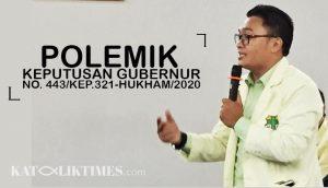 2020-06-15 Soal Keputusan Gubernur Jabar, Pemuda Katolik Dorong Pemprov Jabar Selesaikan Polemik 2