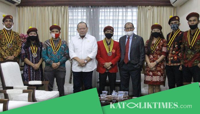 SAMBANGI DPD RI PP PMKRI BAHAS ARAH GERAK ORGANISASI