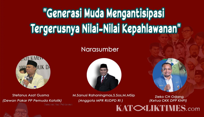 Hari Pahlawan DPP Aliansi Nusantara Diskusi Antisipasi Tergerusnya Nilai-Nilai Kepahlawanan 2
