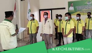Pelantikan Pemuda Katolik Jambi, Josef Simalango Siap Bersinergi Dengan Seluruh Elemen Masyarakat