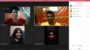 Diskusi Online Perspektif Presidium Gerakan Kemasyarakatan Regio Sumatera Utara