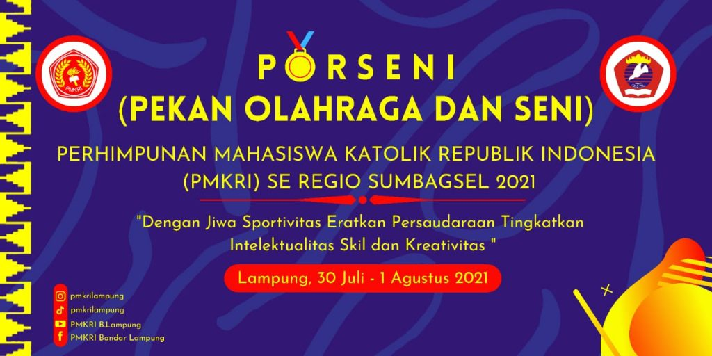 PMKRI Bandar Lampung Adakan Kegiatan Pekan Olahraga dan Seni (Porseni) Se-regio Sumbagsel