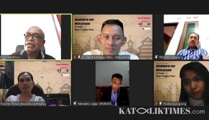 GELAR WEBINAR INISIATIF DEMOKRASI BAHAS DEMOKRASI DAN INTOLERANSI DI TANAH NTT