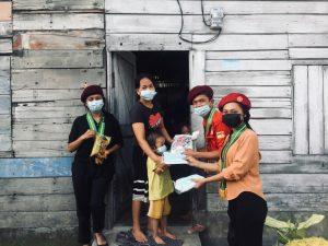 PMKRI Medan Salurkan Bansos Dan Edukasi Prokes
